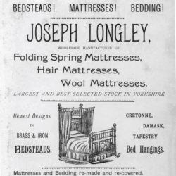 Longleys bedsteads leaflet