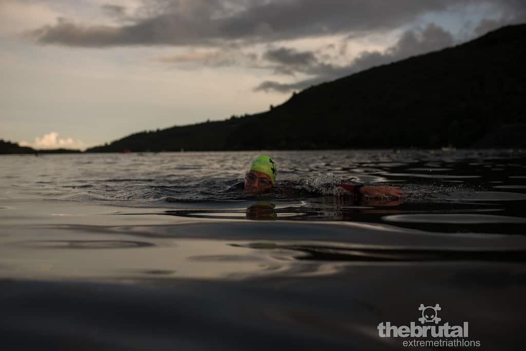 Swimming in Llyn Padarn