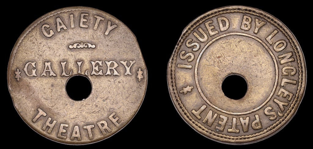 James William Longley coin