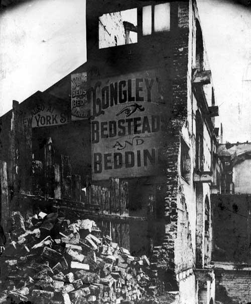 Longleys bedsteads part demolished 1903